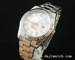 40MM white Dial Men Automatic Watch\sapphire