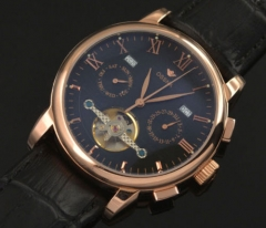 42mm wheel Rose Gold Case Automatic Ossna Watch