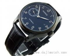 43mm Parnis PVD black Special@9 automatic MECHANICAL Watch