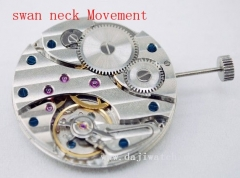 17 Jewels Swan Neck 6497 Hand winding Movement
