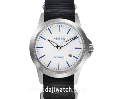 42mm Neiton Sapphire Glass luminous hands Automatic Men's wrist Watch