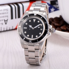 42mm SEA Black Dial Men Automatic Watch