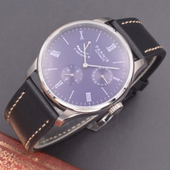 Parnis 42mm purple dial Seagull Movement Power Reserve Automatic mechanical men watch
