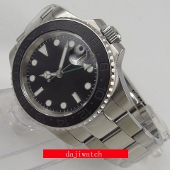 Sapphire Glass black dial SUB Automatic Mechanical men's watch