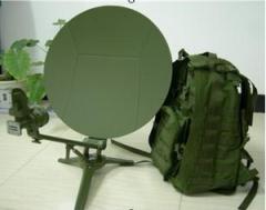 Alignsat 0.55m Carbon Fiber Ku Band Flyaway Antenna