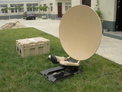 Alignsat 1.2m Auto Flyaway Antenna
