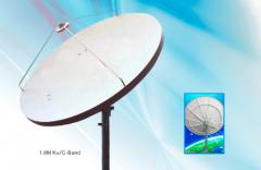 Alignsat 1.8M TVRO Fiber Glass Antenna
