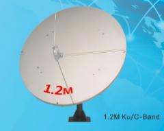 Alignsat 1.2M TVRO Fiber Glass Antenna