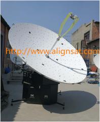 2.4-meter box-type flyaway antenna