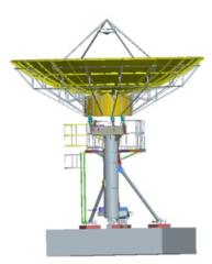 Alignsat 7.3m Ka band antenna