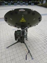 Alignsat delivered 1Meter Auto-tracking carbon fiber flyaway antenna to oversea customer.