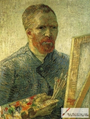 Self-portrait of Vincent Willem van Gogh