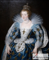 Anna of Austria by Rubens