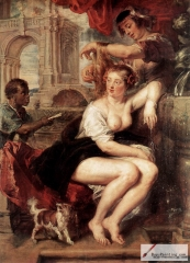 Bathsheba at the Fountain, 1635