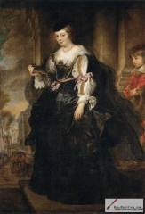 Helena Fourment with a Carriage, 1639