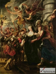 Series on Maria de' Medici; The Flight from Blois