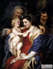 The Holy Family 1630, Prado