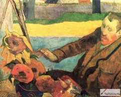 Paul Gauguin, The Painter of Sunflowers: Portrait of Vincent van Gogh, 1888, Van Gogh Museum, Amsterdam