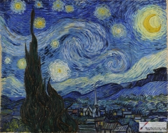 The Starry Night, June 1889, The Museum of Modern Art, New York