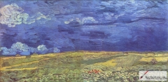Wheat Field Under Clouded Sky, July 1890, Van Gogh Museum