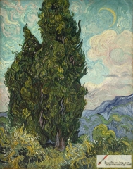Cypresses, 1889, Metropolitan Museum of Art, New York