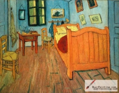 Bedroom in Arles, 1888,