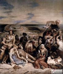 Massacre at Chios (1824), Louvre