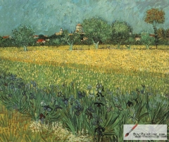 View of Arles with Irises, 1888, Van Gogh Museum, Amsterdam