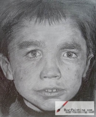 Custom Drawing-Little boy