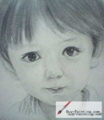 Custom Drawing-Little girl