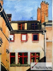 Watercolor painting-Windows