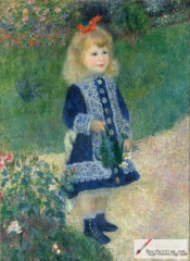 A Girl with a Watering Can, 1876, National Gallery of Art, Washington, D.C.