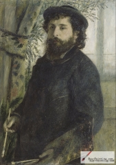Portrait of Claude Monet, 1875, Musée d'Orsay, Paris, France