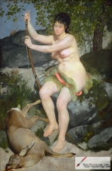 Diana the Huntress, 1867, The National Gallery of Art, Washington, DC
