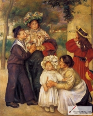 The Artist's Family, 1896, The Barnes Foundation, Philadelphia