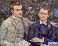 Portrait of Charles and Georges Durand-Ruel, 1882