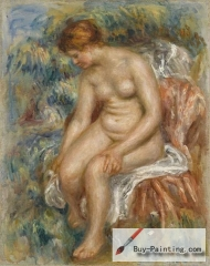 Seated Bather Drying Her Leg, 1914, Musée de l'Orangerie, Paris