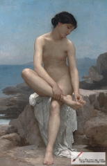 The Bather - Baigneuse (1879)