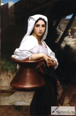 Italian Girl Drawing Water (1871)