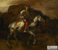 The Polish Rider – Possibly a Lisowczyk on horseback.