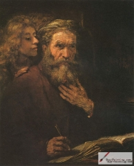The evangelist Matthew and the angel, 1661