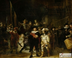 The Night Watch or The Militia Company of Captain Frans Banning Cocq, 1642.