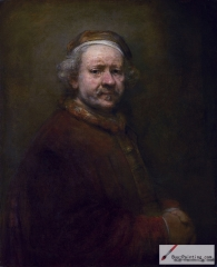 Self-portrait, dated 1669,
