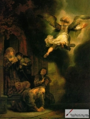 The Archangel leaving Tobias, 1637
