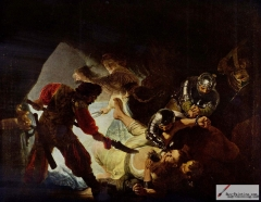 The Blinding of Samson, 1636,