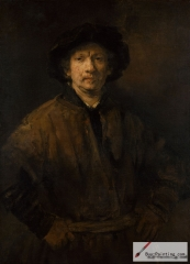 Self-Portrait, oil on canvas, 1652.