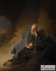 Jeremiah Lamenting the Destruction of Jerusalem, c. 1630