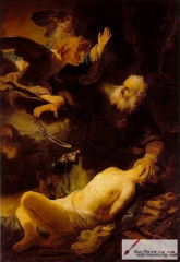 Abraham and Isaac, 1634