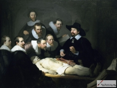 Anatomy Lesson of Dr. Nicolaes Tulp, 1632