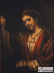 Woman in a Doorway, 1657-1658